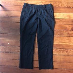 Gap black stretch pants - size 2